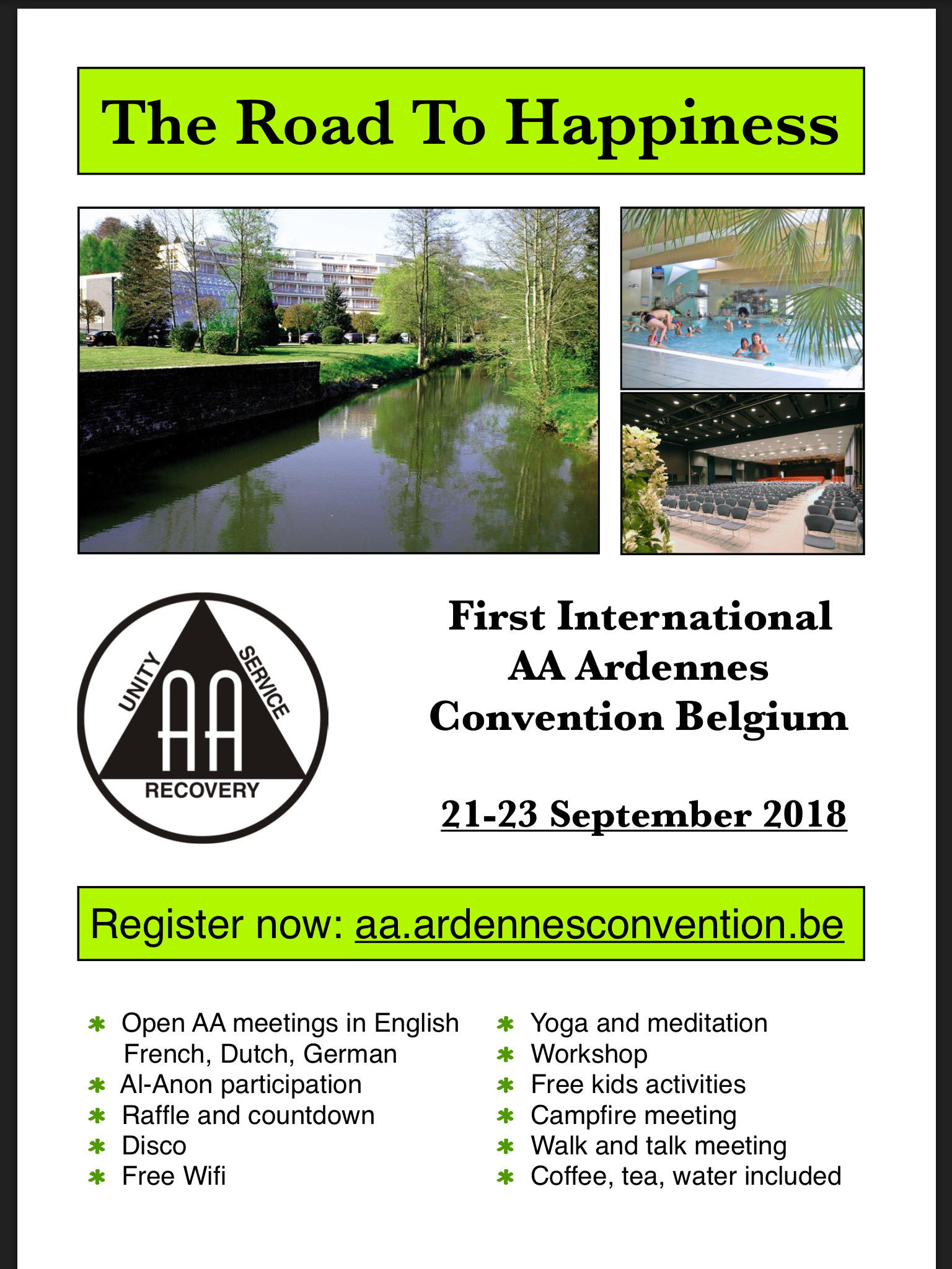 Aa netherlands meetings